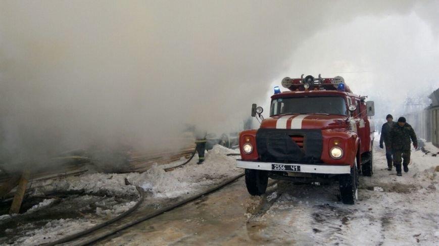 Пожар в Боярке (ФОТО), фото-1