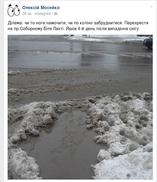Запорожцы жалуются на нерасчищенные дороги, - ФОТО, фото-2