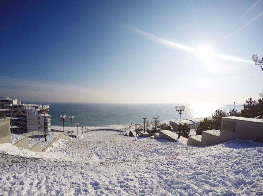 Снежный плен: Самые впечатляющие фото зимы в Одесской области (ФОТО), фото-10