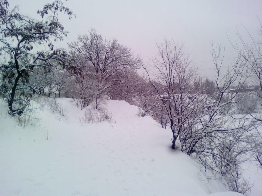 Заснеженный Днепр. Как сегодня выглядит карьер на Красном Камне (ФОТОРЕПОРТАЖ), фото-4