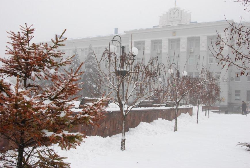 В Бердянске выпал снег (ФОТОРЕПОРТАЖ), фото-4