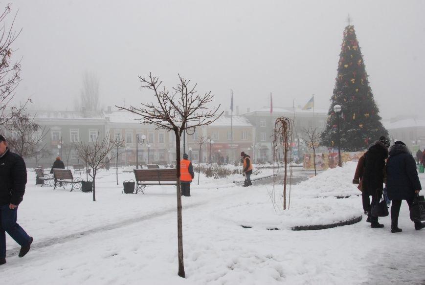 В Бердянске выпал снег (ФОТОРЕПОРТАЖ), фото-3