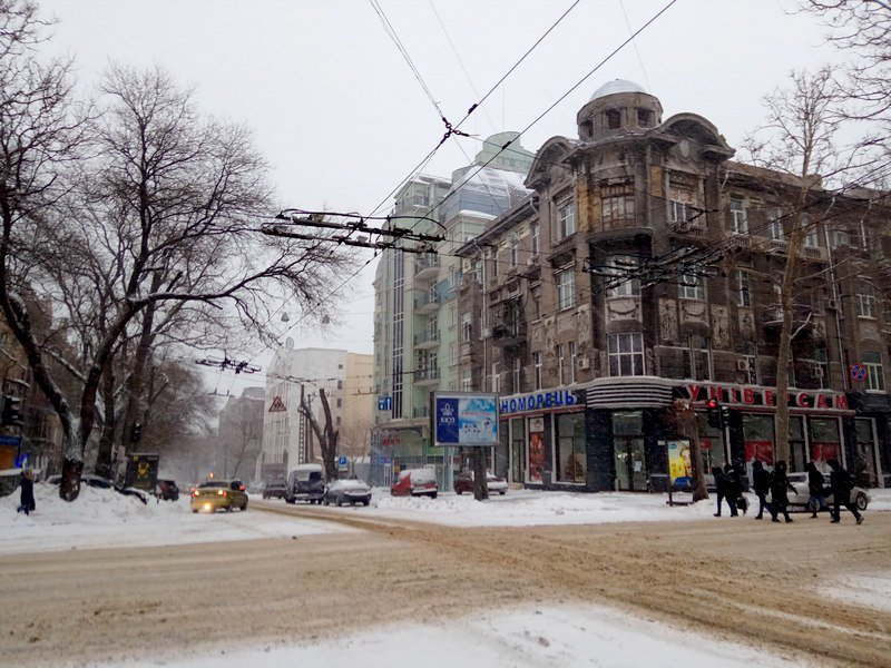 На рассвете Одессу стало заметать снегом сильнее (ФОТО), фото-7