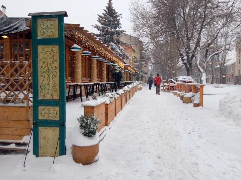 На рассвете Одессу стало заметать снегом сильнее (ФОТО), фото-3