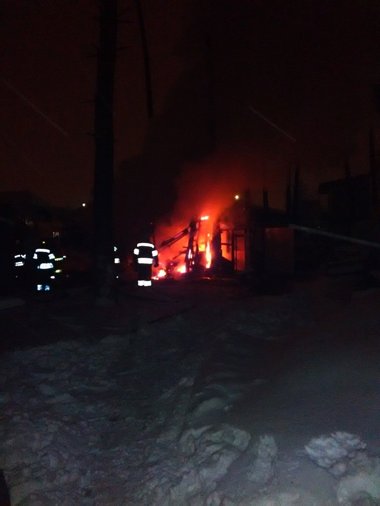 В Броварах сталася пожежа в дерев'яному вагончику, фото-1