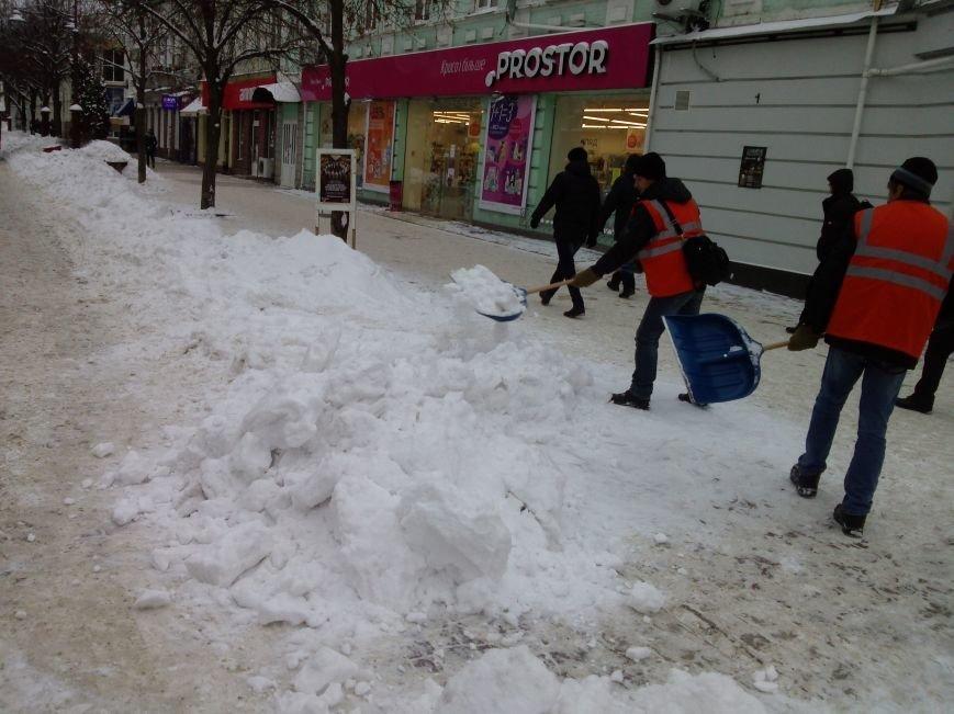 Фотофакт: Проскурівську звільняють від снігу, фото-1