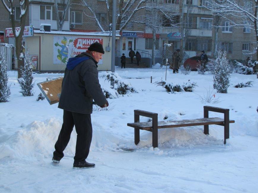 Как Мелитополь чистят от снега и безопасно ли на дорогах (фото), фото-1