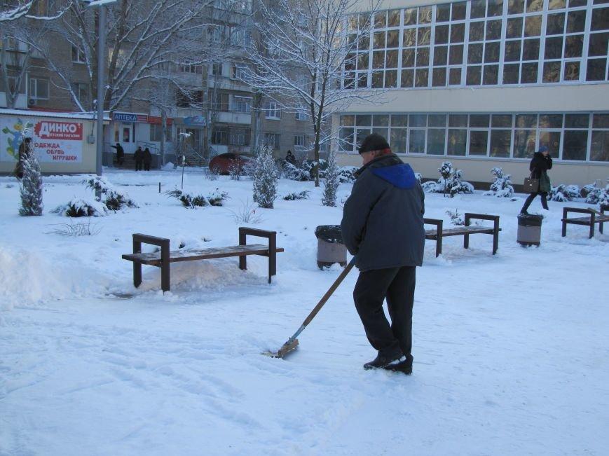 Как Мелитополь чистят от снега и безопасно ли на дорогах (фото), фото-3