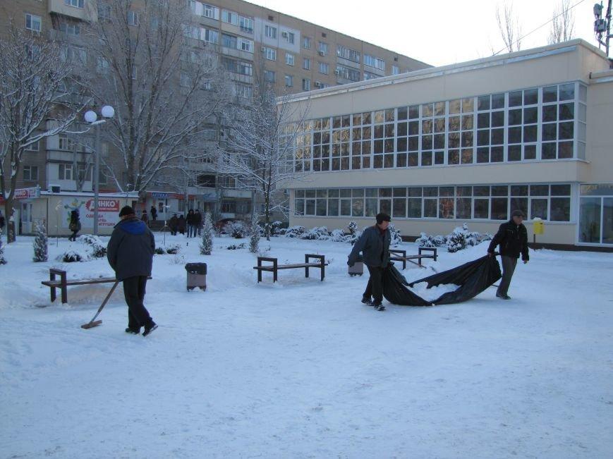 Как Мелитополь чистят от снега и безопасно ли на дорогах (фото), фото-4