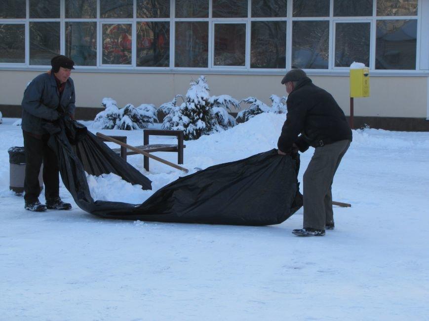 Как Мелитополь чистят от снега и безопасно ли на дорогах (фото), фото-2