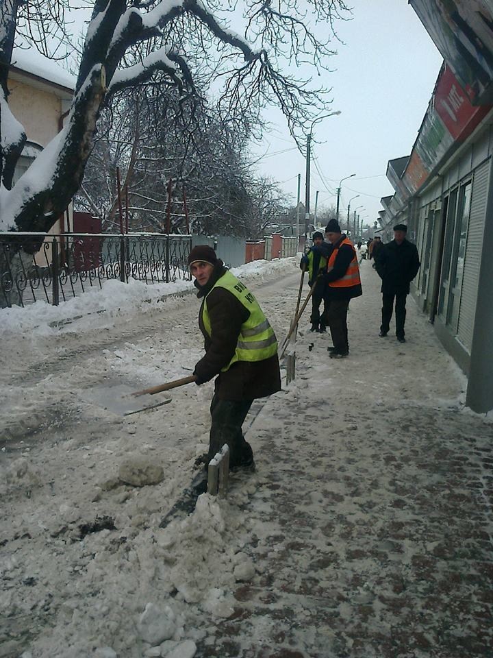Уборка снега в Вишневом, фото-2
