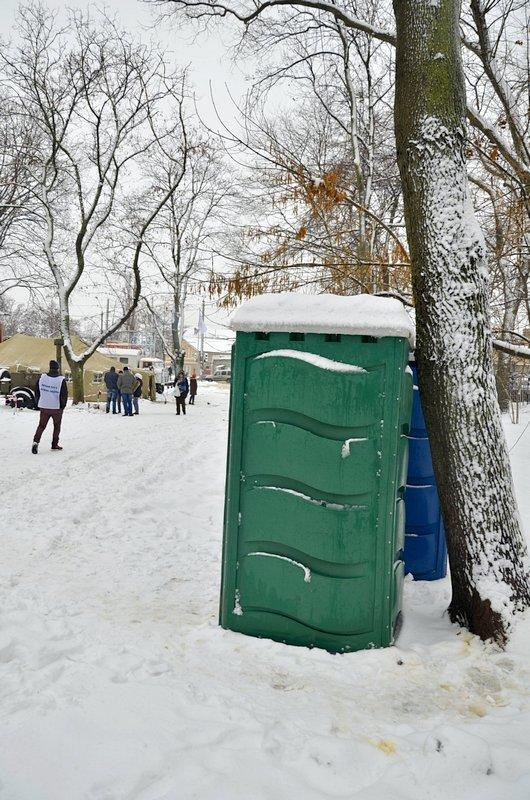 Бездомных Одессы согрели, одели и накормили в парке возле Привоза (ФОТО), фото-20