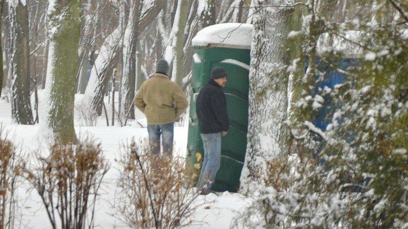 Бездомных Одессы согрели, одели и накормили в парке возле Привоза (ФОТО), фото-19