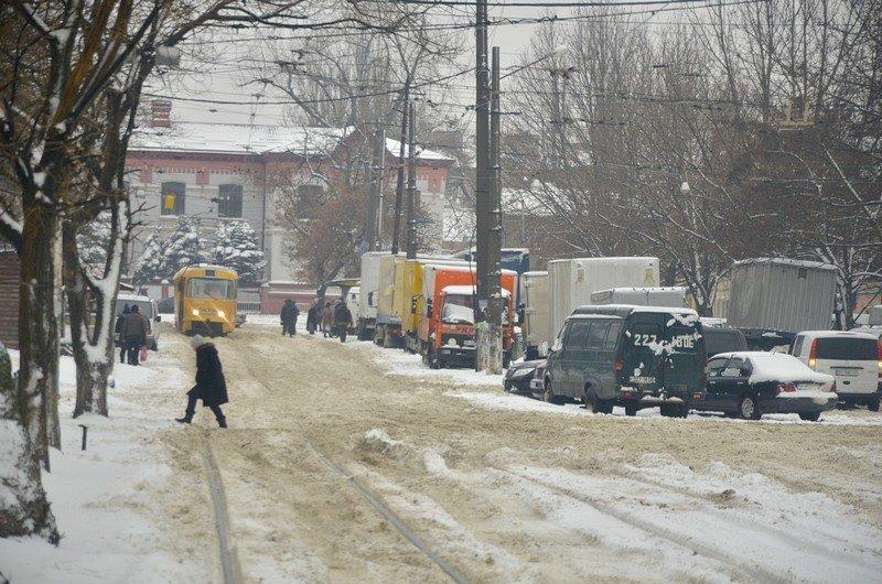Снег начал таять, Одесса превратится в большой каток (ВИДЕО, ФОТО), фото-23