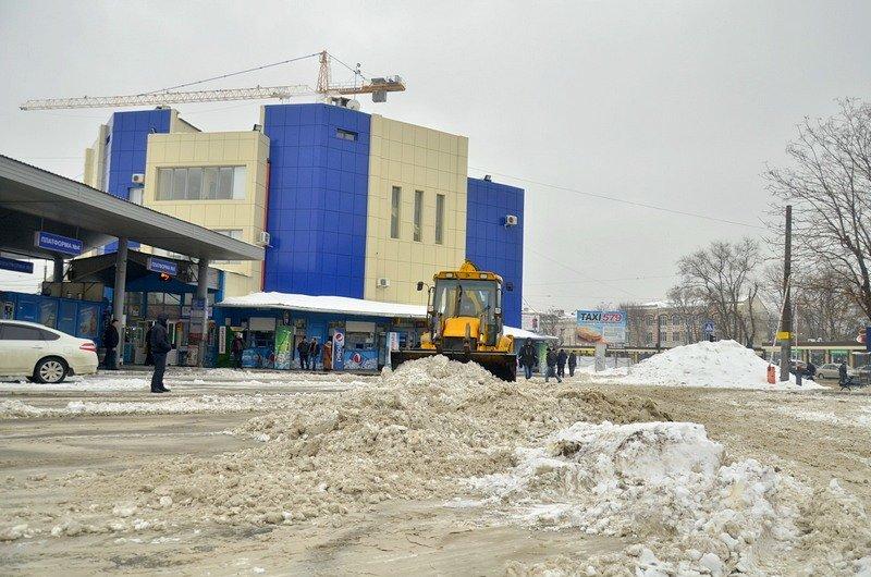 Снег начал таять, Одесса превратится в большой каток (ВИДЕО, ФОТО), фото-35