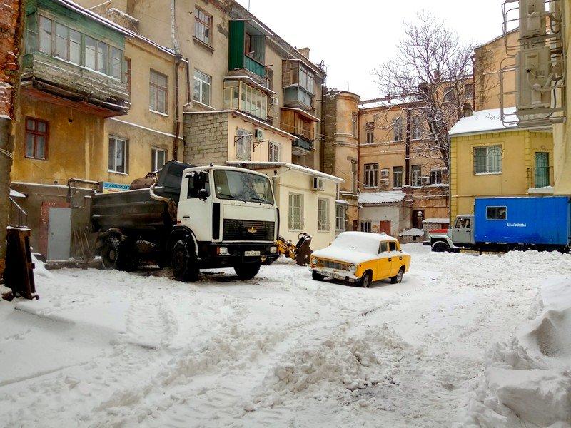 Снег начал таять, Одесса превратится в большой каток (ВИДЕО, ФОТО), фото-10