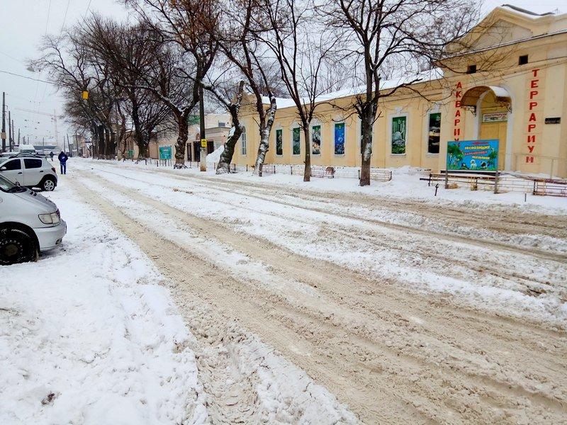 Снег начал таять, Одесса превратится в большой каток (ВИДЕО, ФОТО), фото-22