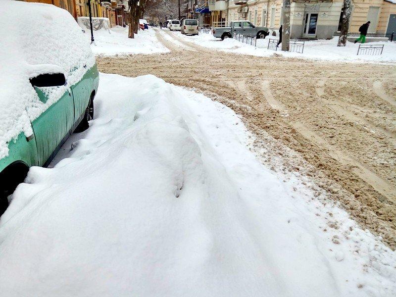 Снег начал таять, Одесса превратится в большой каток (ВИДЕО, ФОТО), фото-9
