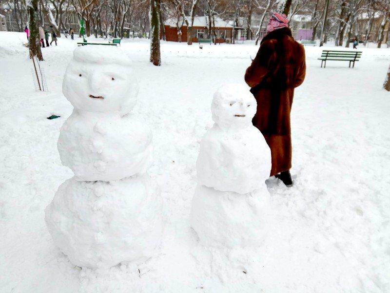Снег начал таять, Одесса превратится в большой каток (ВИДЕО, ФОТО), фото-5