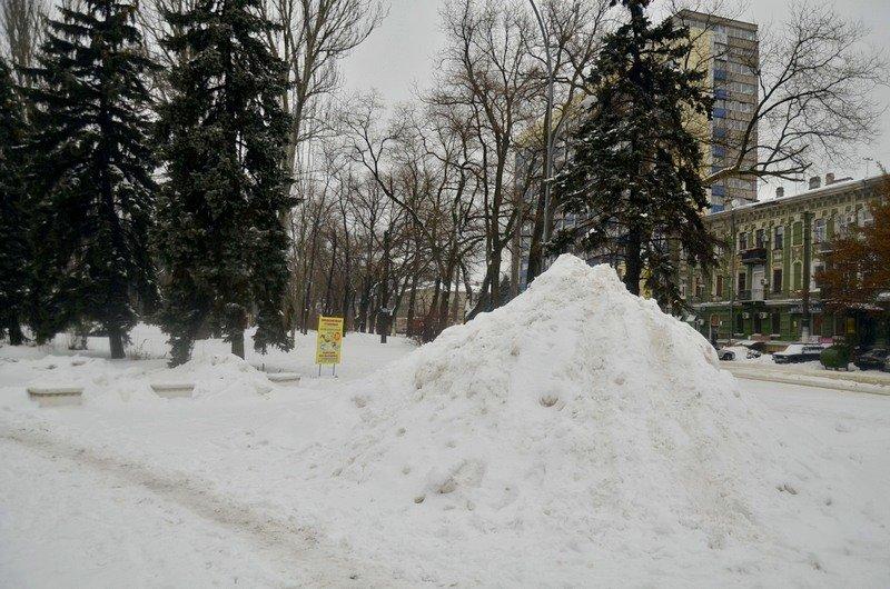 Снег начал таять, Одесса превратится в большой каток (ВИДЕО, ФОТО), фото-46