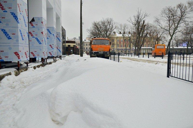 Снег начал таять, Одесса превратится в большой каток (ВИДЕО, ФОТО), фото-38