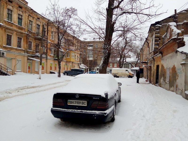 Снег начал таять, Одесса превратится в большой каток (ВИДЕО, ФОТО), фото-12