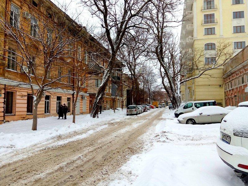 Снег начал таять, Одесса превратится в большой каток (ВИДЕО, ФОТО), фото-8