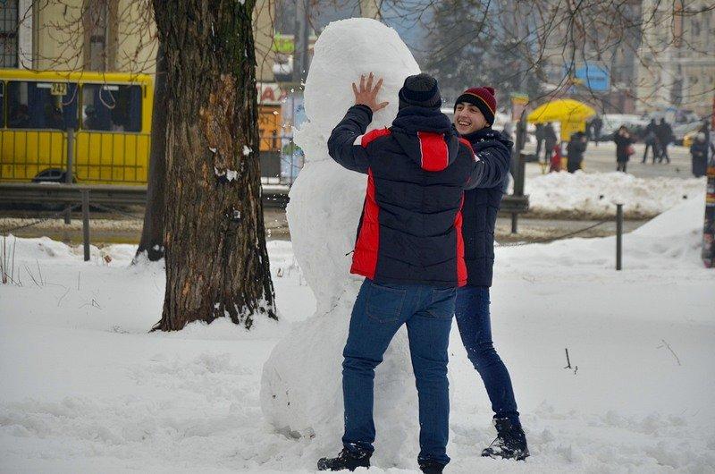 Снег начал таять, Одесса превратится в большой каток (ВИДЕО, ФОТО), фото-43