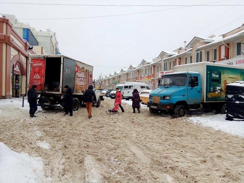 Снег начал таять, Одесса превратится в большой каток (ВИДЕО, ФОТО), фото-17