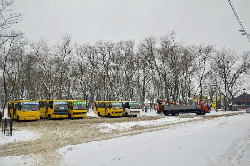 Снег начал таять, Одесса превратится в большой каток (ВИДЕО, ФОТО), фото-37