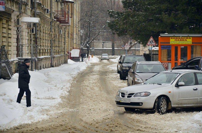 Снег начал таять, Одесса превратится в большой каток (ВИДЕО, ФОТО), фото-49