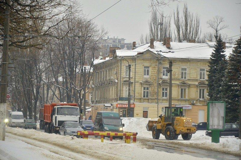 Снег начал таять, Одесса превратится в большой каток (ВИДЕО, ФОТО), фото-47