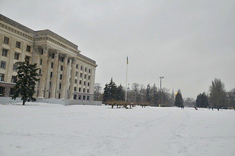 Снег начал таять, Одесса превратится в большой каток (ВИДЕО, ФОТО), фото-44