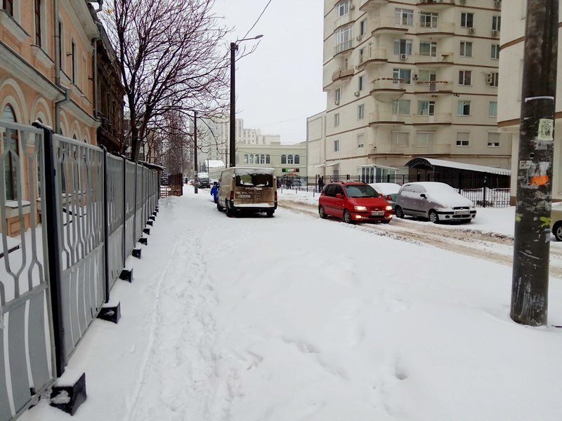 Снег начал таять, Одесса превратится в большой каток (ВИДЕО, ФОТО), фото-13
