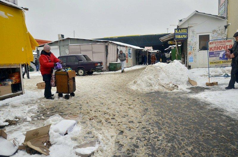 Снег начал таять, Одесса превратится в большой каток (ВИДЕО, ФОТО), фото-29