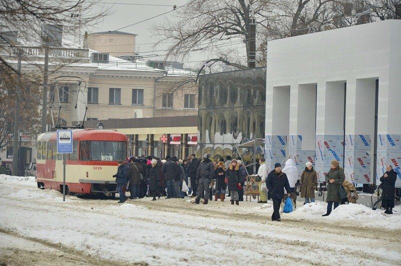 Снег начал таять, Одесса превратится в большой каток (ВИДЕО, ФОТО), фото-36