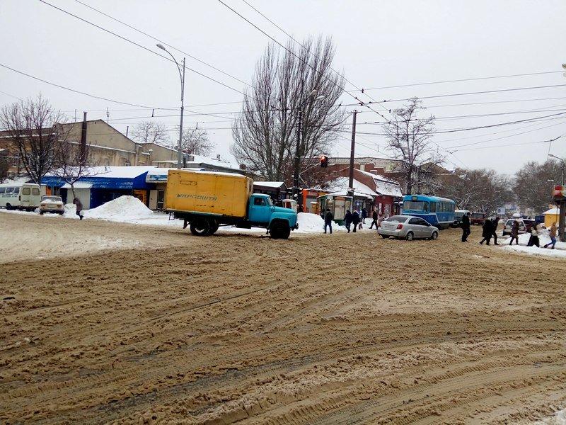 Снег начал таять, Одесса превратится в большой каток (ВИДЕО, ФОТО), фото-16
