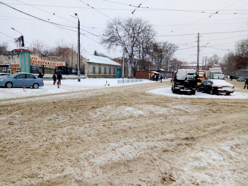 Снег начал таять, Одесса превратится в большой каток (ВИДЕО, ФОТО), фото-21