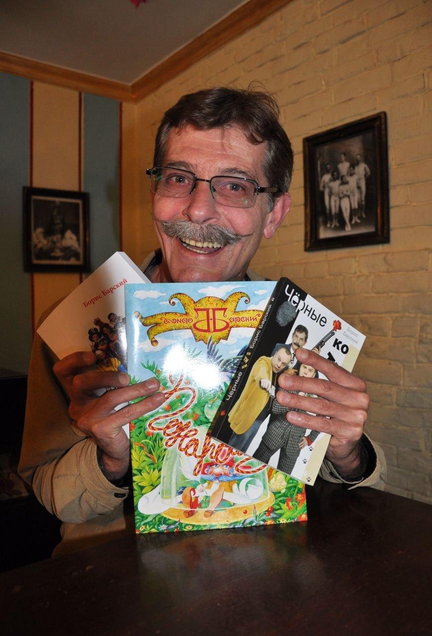 Знаменитый одесский усач нашутил на новую книгу (ФОТО), фото-2