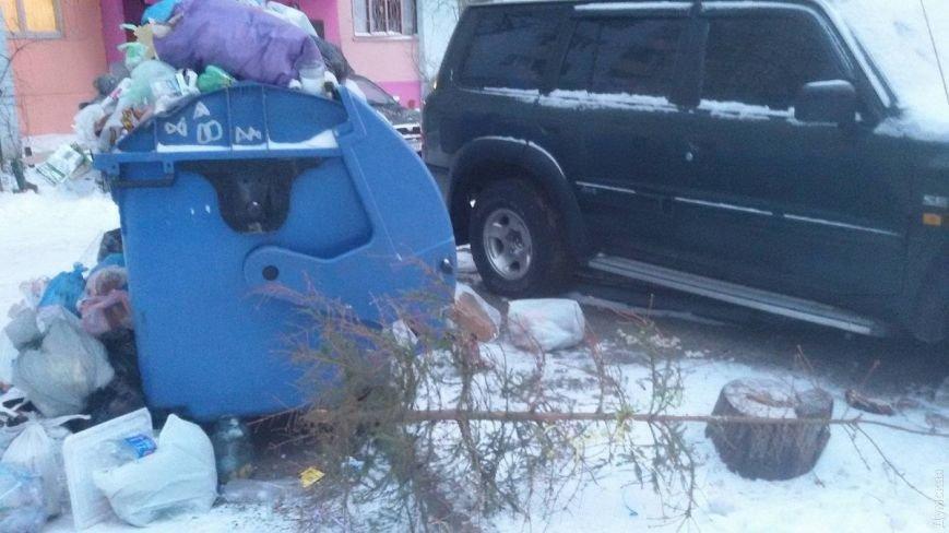 Дворы спальных районов Одессы утопают в мусоре, пока мэр в отпуске, фото-3