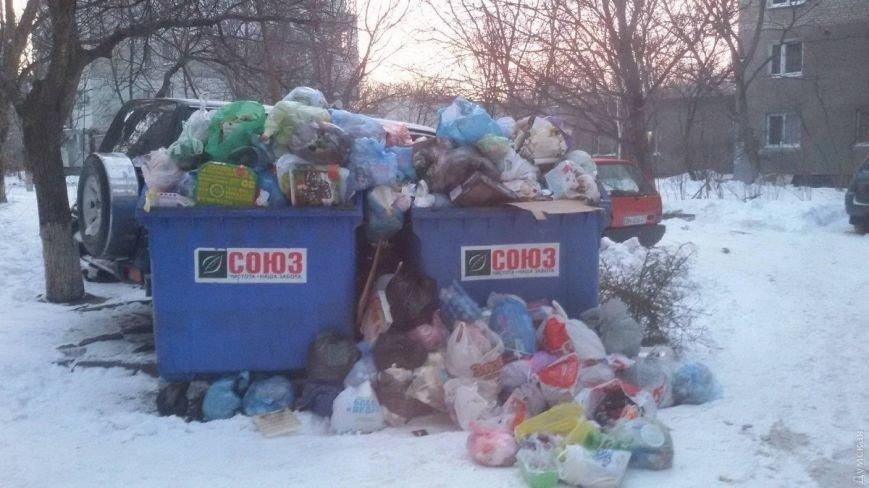 Дворы спальных районов Одессы утопают в мусоре, пока мэр в отпуске, фото-2