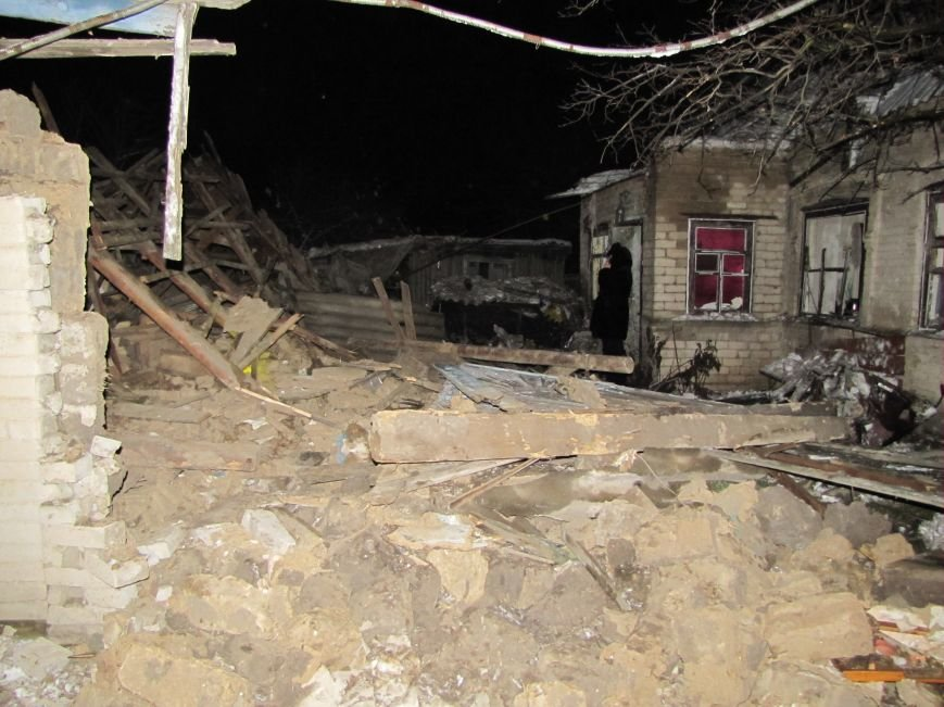 Взрыв в Мелитополе: дом разрушен, а 19-летний парень с ожогами в больнице (фото), фото-2