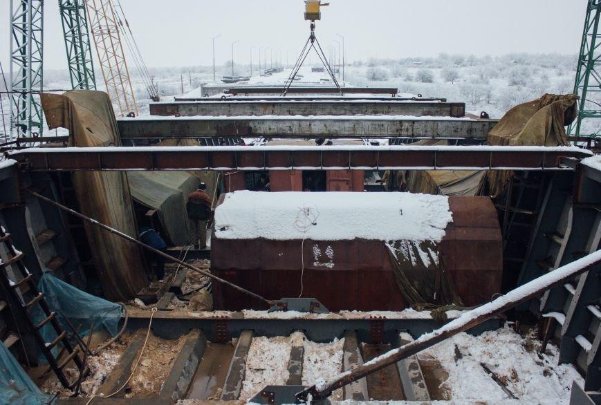 Как строят запорожские мосты: репортаж со стройплощадки, - ФОТО, ВИДЕО, фото-7