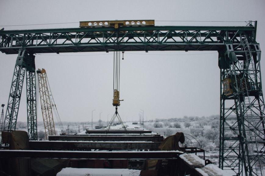 Как строят запорожские мосты: репортаж со стройплощадки, - ФОТО, ВИДЕО, фото-8