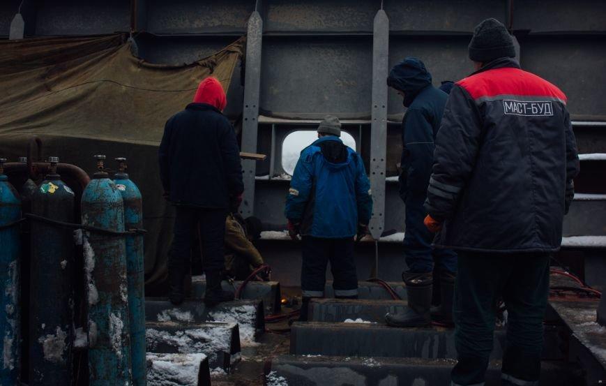 Как строят запорожские мосты: репортаж со стройплощадки, - ФОТО, ВИДЕО, фото-3