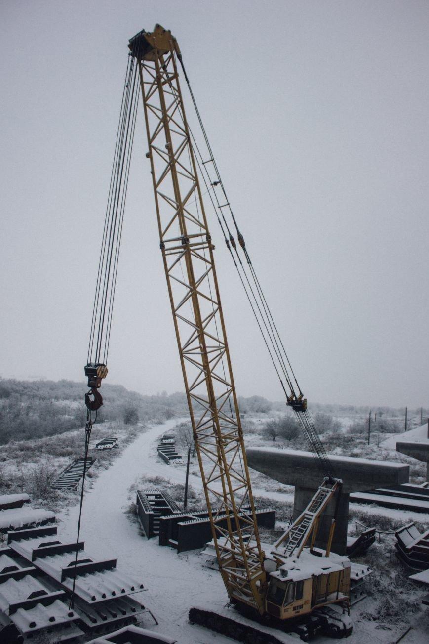Как строят запорожские мосты: репортаж со стройплощадки, - ФОТО, ВИДЕО, фото-14