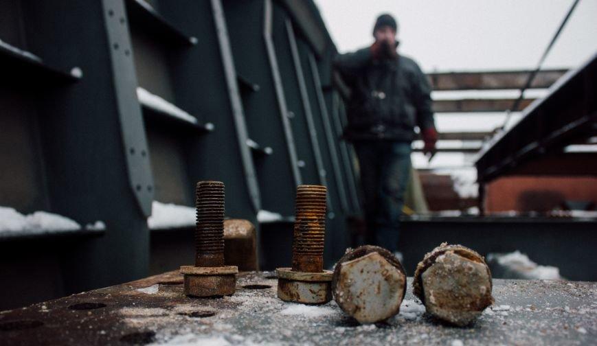 Как строят запорожские мосты: репортаж со стройплощадки, - ФОТО, ВИДЕО, фото-15