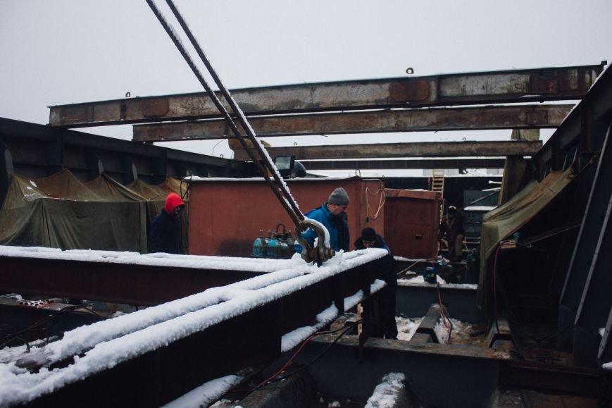 Как строят запорожские мосты: репортаж со стройплощадки, - ФОТО, ВИДЕО, фото-13