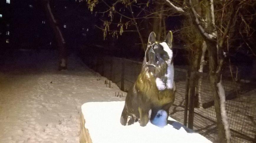 В Бердянске совершен  акт вандализма, фото-2