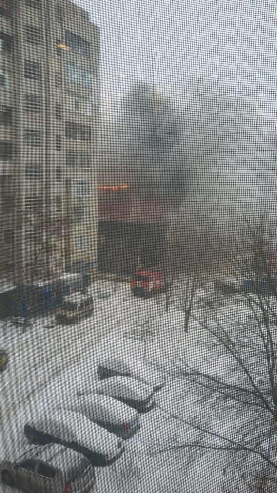 В Сумах горит здание тренажерного зала «В-tone» (ФОТОФАКТ), фото-4